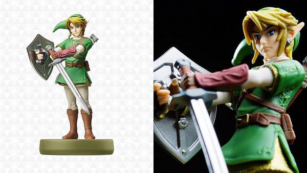 Link amiibo Twilight Princess nshop