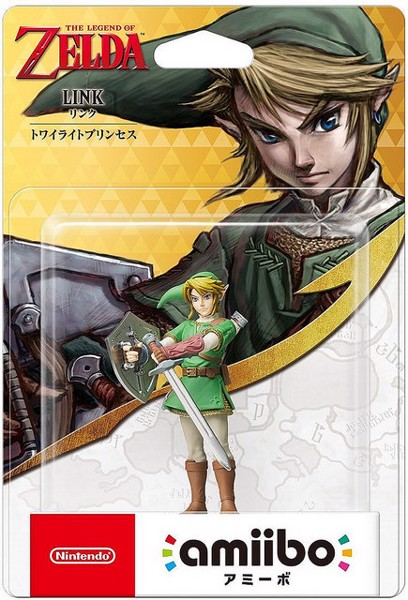 Link amiibo Twilight Princess nshop vietnam