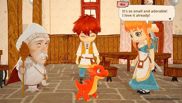 Little Dragons Cafe cho PS4 nShop