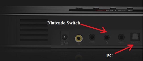 loa cắm nintendo switch và pc