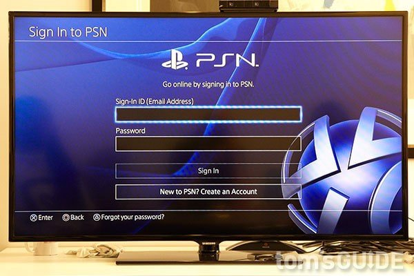 login ps4 user psn