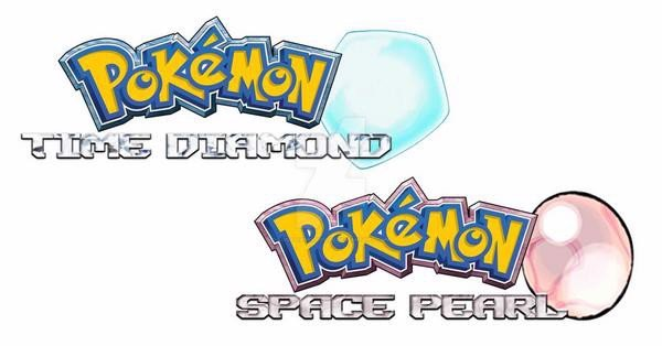 logo pokemon time diamond and space pearl