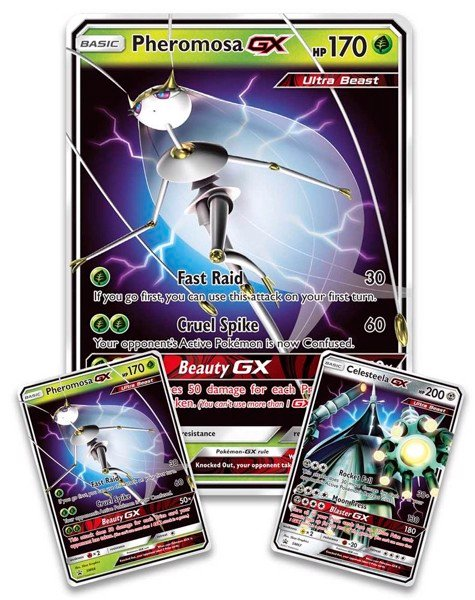 Ultra Beasts Premium Collection  Pheromosa GX Celesteela GX Pokémon TCG
