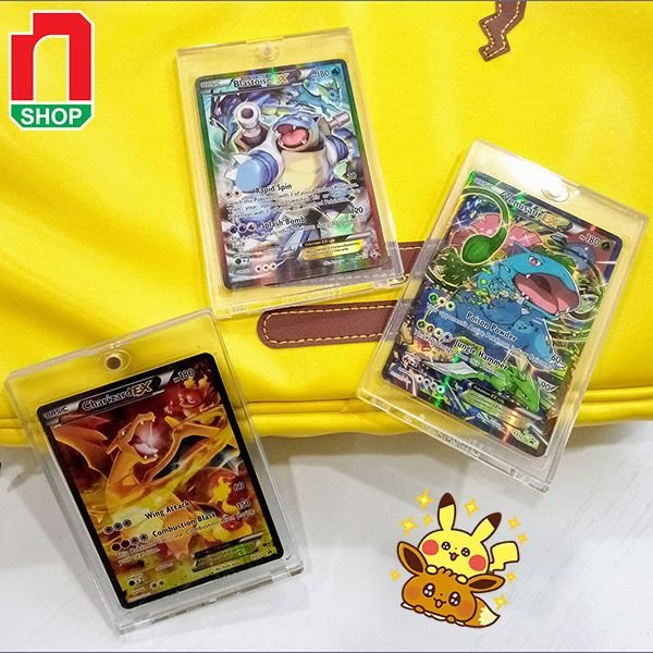 Ultra Pro One Touch 35 PT Magnetic Holder Clear case bài pokemon yugioh