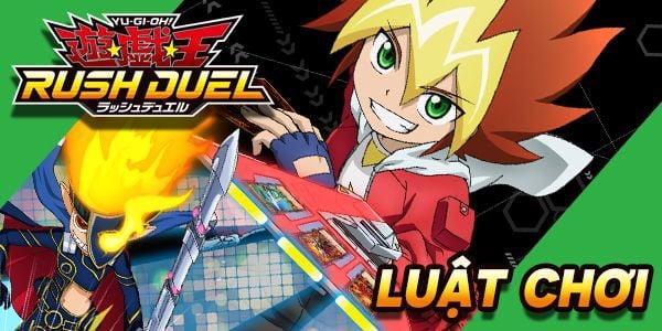 luật chơi yugioh rush duel