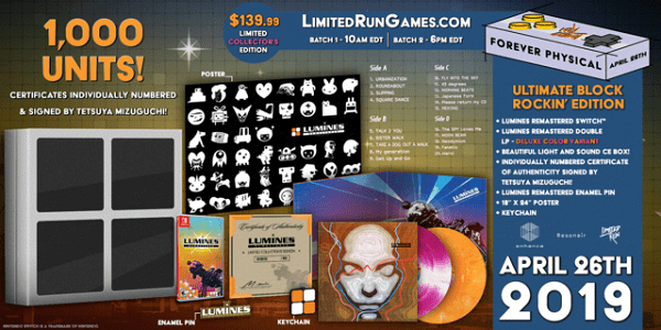 Lumines Remastered Ultimate Edition