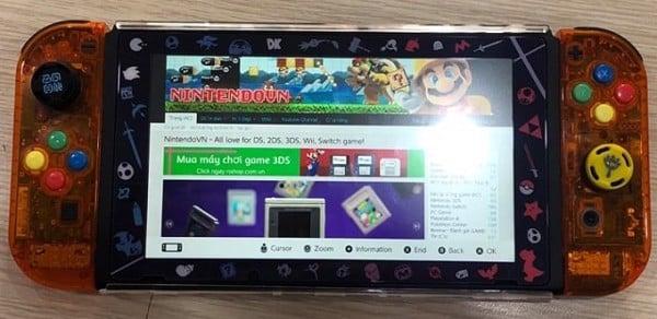 lướt web trên Nintendo Switch