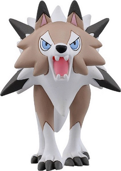 Lycanroc Midday Form Pokemon Figure