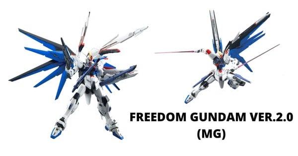 Gundam Shop HCM Mô hình Gundam Freedom Ver 2 MG Bandai