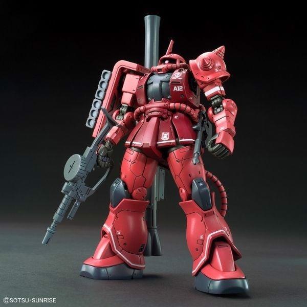 Mô hình Gundam MS-06S Zaku II (Red Comet Ver) (Gundam The Origin) chính hãng Bandai