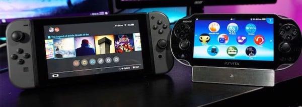 màn hình Nintendo Switch to hơn