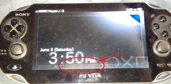 màn hình oled ps vita 1000 bị cháy