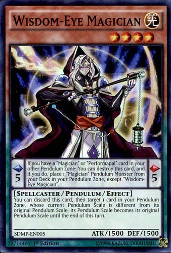 MASTER OF PENDULUM STRUCTURE DECK TCG