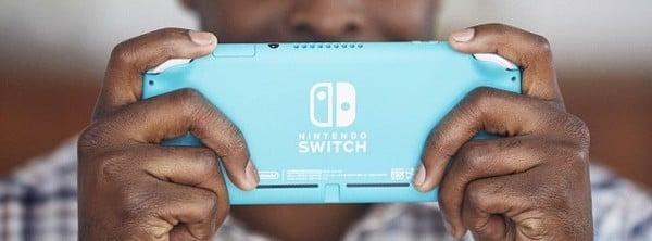 mặt lưng Nintendo Switch Lite