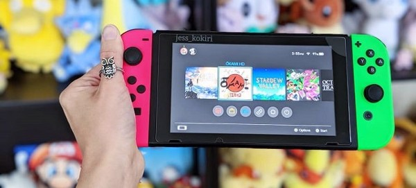 máy chơi game cầm tay 2019 nintendo switch