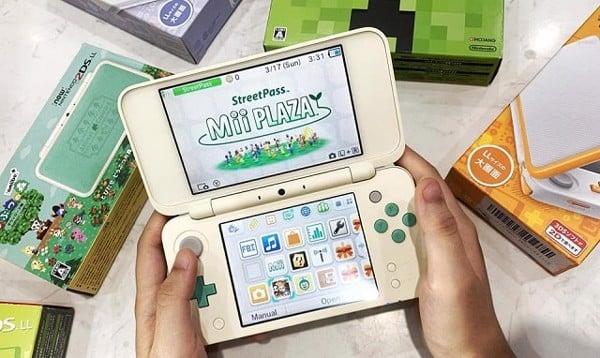 máy chơi game cầm tay 2DS XL của Nhật