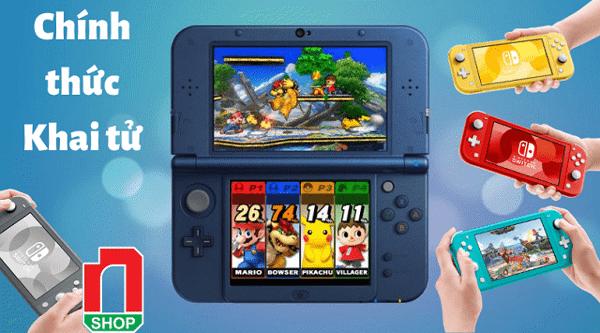 máy chơi game Nintendo 3DS khai tử