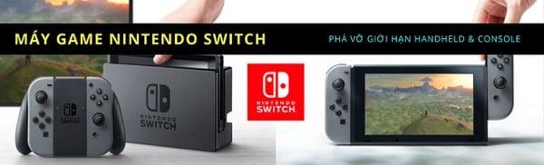 Máy chơi game Nintendo Switch mới nhất