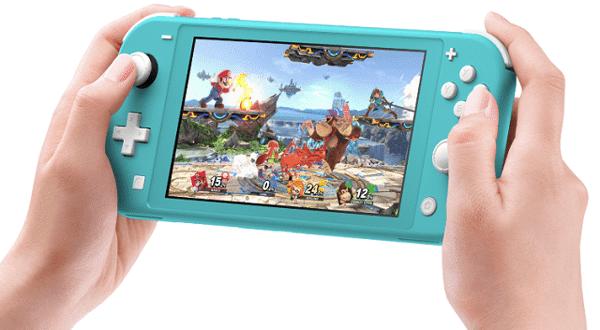 máy chơi game cầm tay Nintendo Switch Lite xanh ngọc
