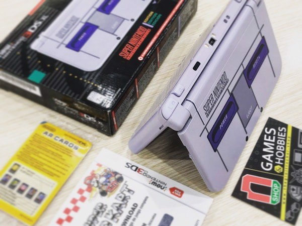Máy game New Nintendo 3DS XL SNES Edtion