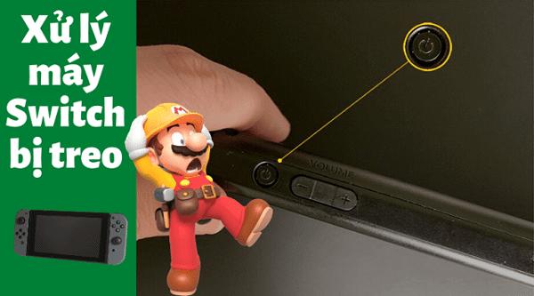 máy Nintendo Switch mở không lên
