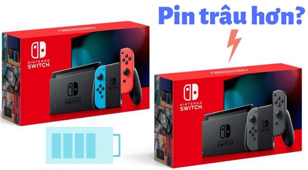 máy Nintendo Switch phiên bản mới 2019 Việt Nam