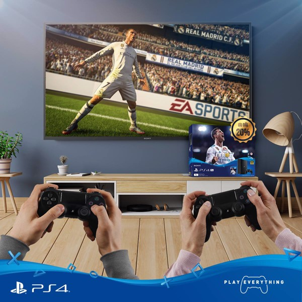 máy chơi game ps4 pro bundle fifa sony vietnam