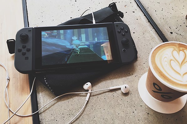 Nintendo Switch cafe