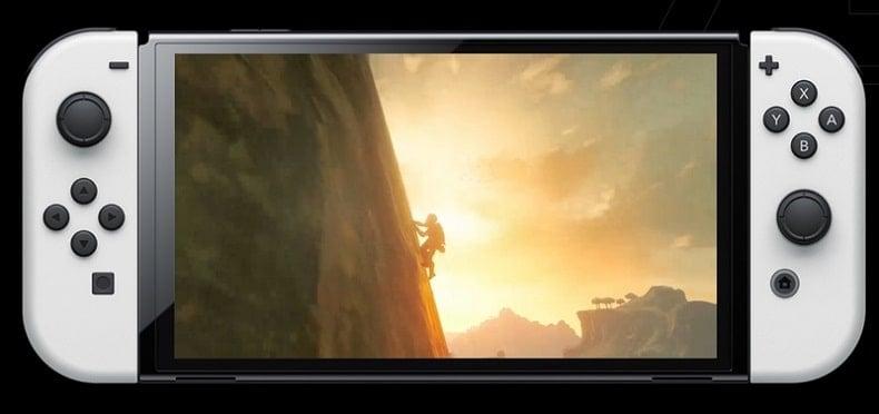 Máy Switch OLED Zelda Breath of the Wild