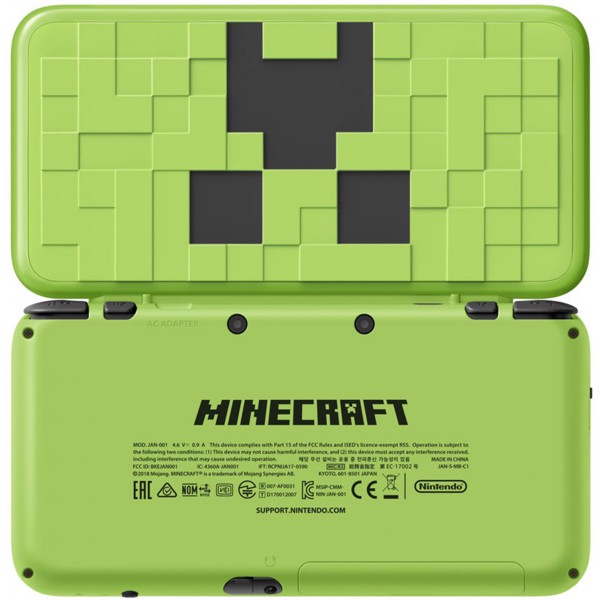 game shop bán New Nintendo 2DS LL Minecraft Creeper Edition tại Việt Nam