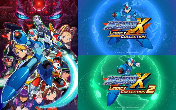 Mega Man X Legacy Collection 1 + 2 của máy Nintendo Switch