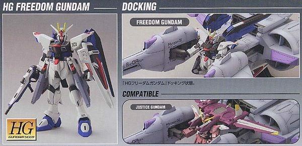 Meteor Unit Freedom Gundam HG chính hãng bandai