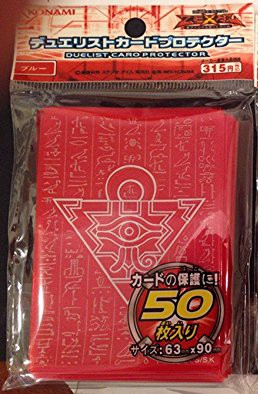 MILLENNIUM PUZZLE SLEEVES  RED