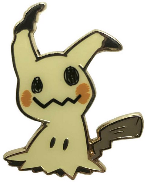 MIMIKYU PIN COLLECTION POKEMON TRADING CARD GAME