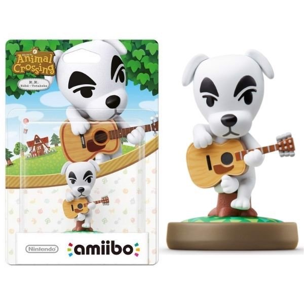 mô hình amiibo Animal Crossing K K Slider cho Nintendo Switch