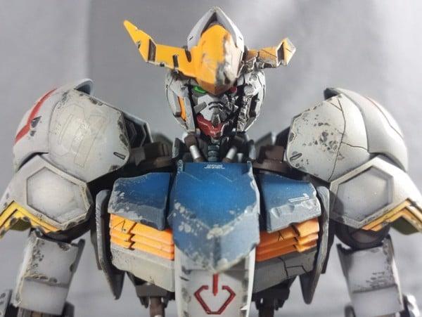 Mô hình Custom Gundam Barbatos Battle Damage