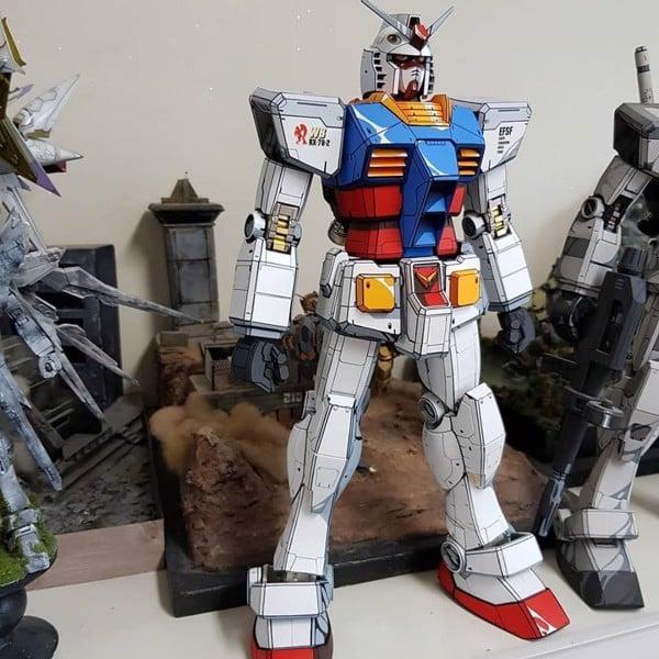 Mô hình Custom Gundam Paint Anime hwadam7788