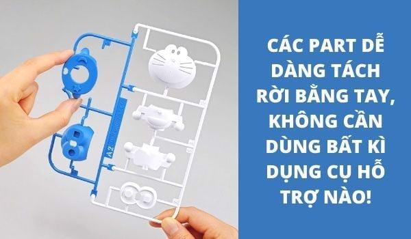 Mô hình Doraemon lắp ráp Entry Grade
