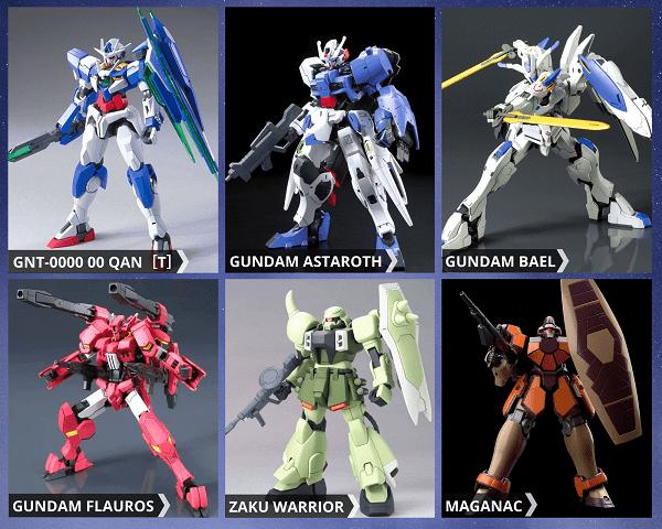 Mô hình Gundam HG giá rẻ chính hãng Bandai