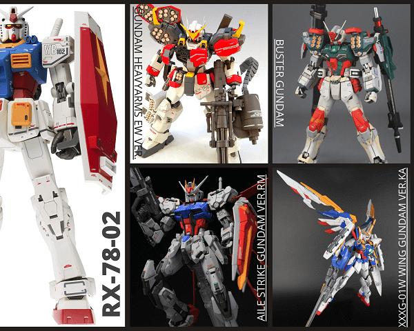 Mô hình Gundam MG giá rẻ chính hãng Bandai