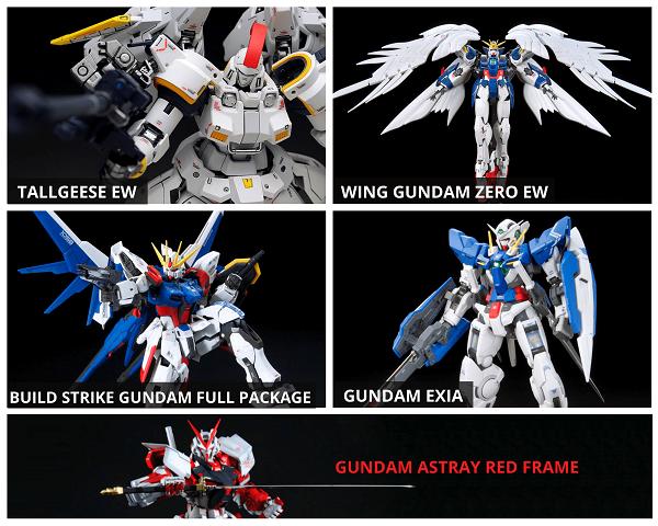 Mô hình Gundam RG giá rẻ chính hãng Bandai