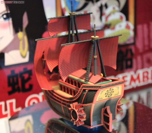 mô hình lắp ráp tàu Nine Snake Pirate Ship One Piece Grand Ship Collection