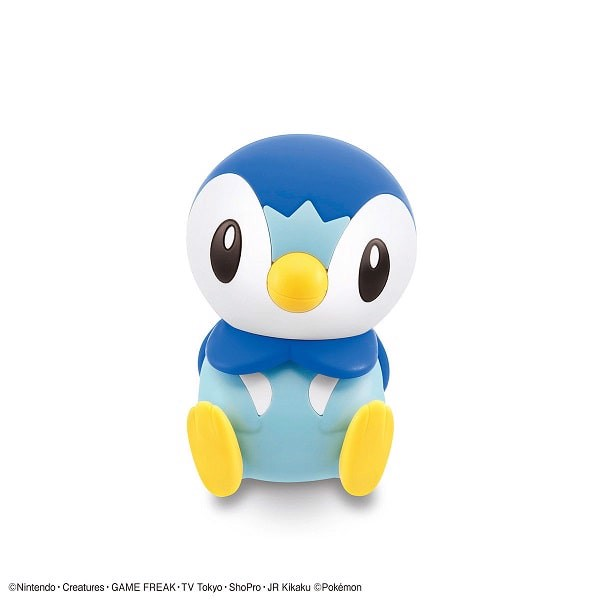 Mô hình lắp ráp Piplup - Pokemon Plamo Collection Quick Bandai