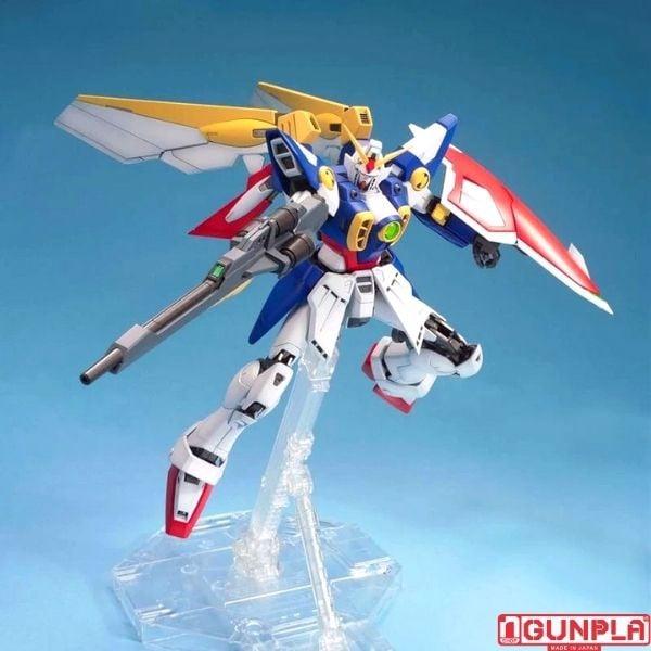 Mô hình lắp ráp XXXG-01W Wing Gundam MG chính hãng Bandai Gundam nShop