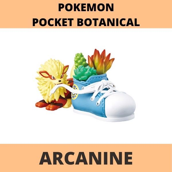 Mô hình Pokemon Botanical Re-Ment Arcanine