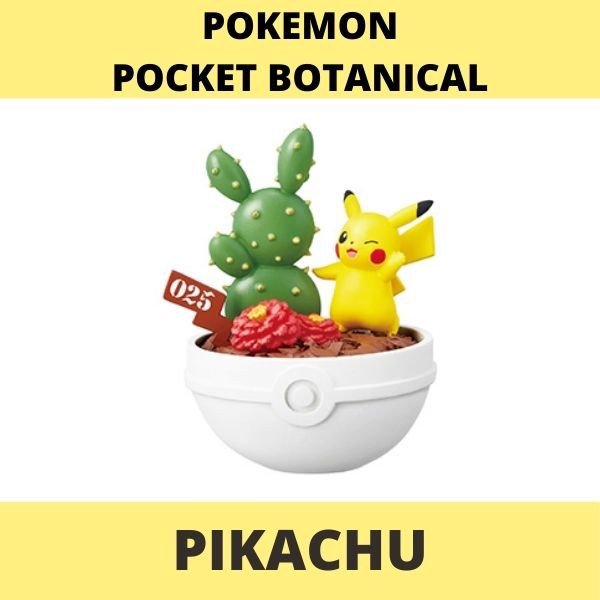 Mô hình Pokemon Botanical Re-Ment Pikachu
