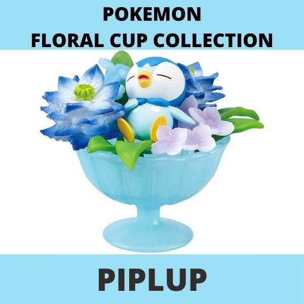 Mô hình Pokemon Floral Cup 2 Piplup chính hãng Rement