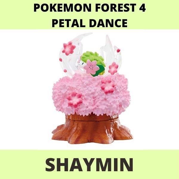 Mô hình Pokemon Forest 4 Petal Dance Re-ment Shaymin
