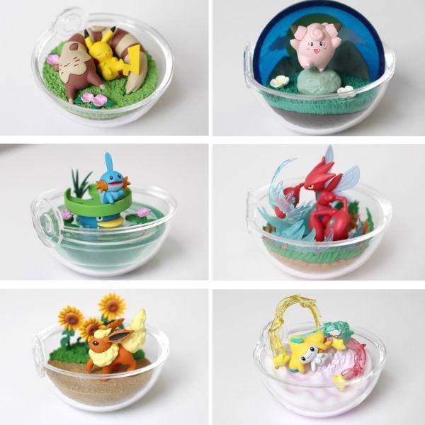 Mô hình Pokemon Terrarium Collection 8 Re-Ment chính hãng giá rẻ