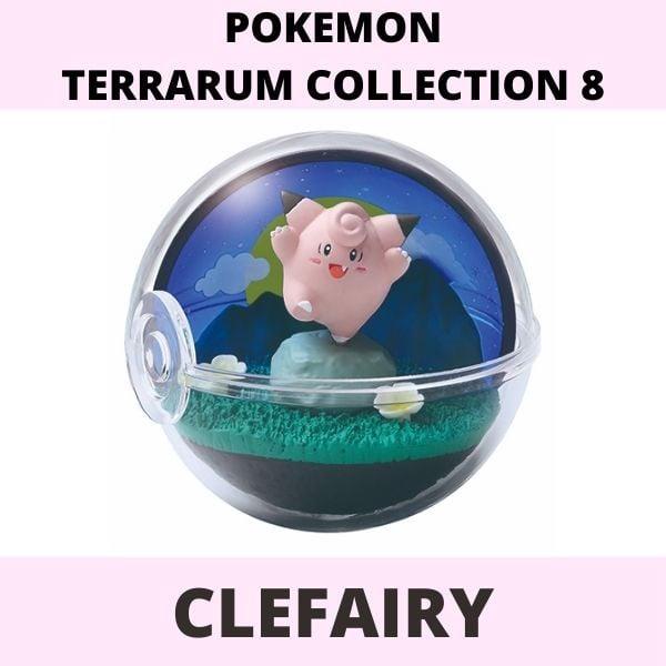 Mô hình Pokemon Terrarium Collection 8 Re-Ment Clefairy
